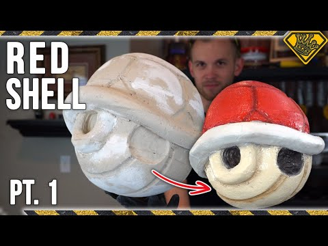 How To Carve a Mario Kart Red Shell