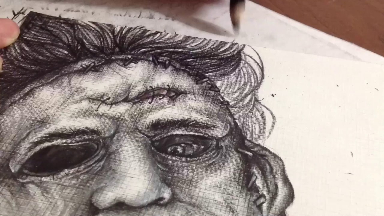 Leatherface - Speed Drawing