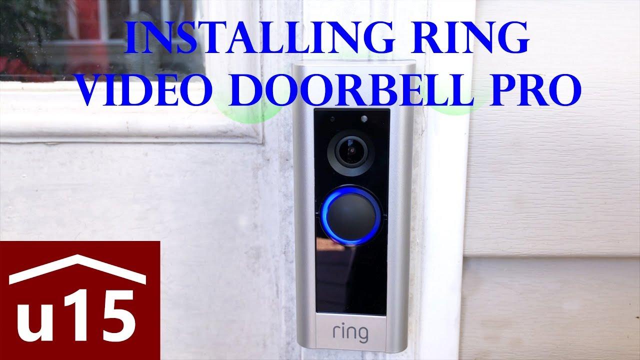 install ring doorbell pro youtube