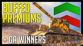 ► Premium BUFFS Are REAL + Giveaway Winners! - World of Tanks Update 1.2 Gameplay