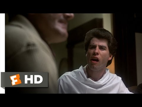 Saturday Night Fever 19 Movie CLIP  Watch the Hair 1977 HD