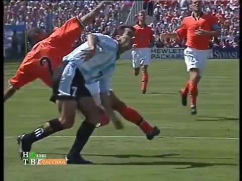 4 Jul 1998, Netherlands - Argentina (1/4 final, Marseille), FIFA World Cup France '98
