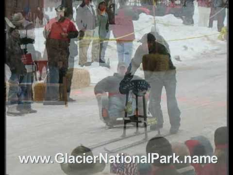 Bar Stool Races in Hungry Horse, MT