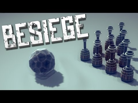 LET'S GO BOWLING! - Besiege Alpha Sandbox