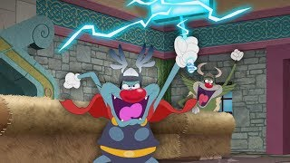 (NEW SEASON 5) Oggy and the Cockroaches ⚡  The Lord Of Lightning ⚡ (S05-E30) #THOR