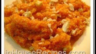 Milky Gajar (Carrot) Halwa- Hindi with english subtitles