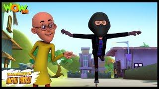 Roller Skate Thief - Motu Patlu in Hindi - 3D Animation Cartoon for Kids -As seen on Nickelodeon
