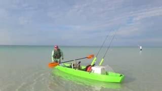 Kayak Fishing Seaside FL Oct 2nd 2016