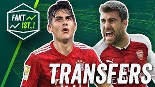 Dybala zu FC Bayern, Sokratis weg vom BVB? Fakt ist..! Transfer Spezial Sommerpause 2018