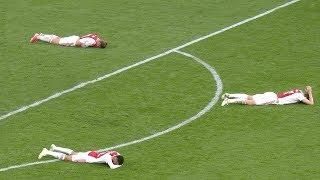 Самые эмоциональные моменты в футболе