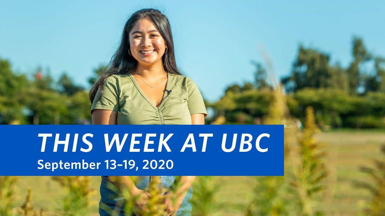 This Week at UBC: September 13–19, 2020