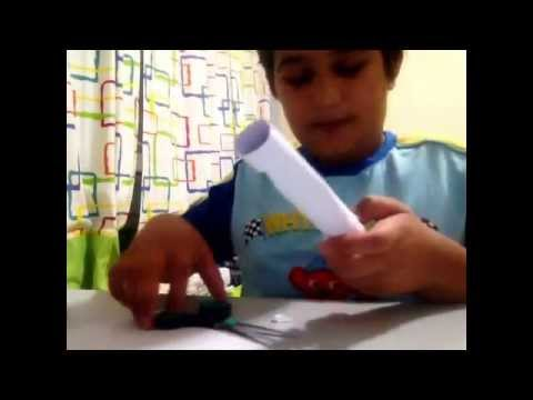 How to make a paper BB gun