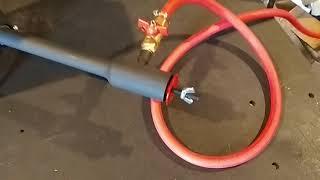 Печь плавильная газовая