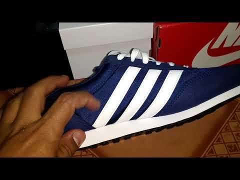 9e4cd391f45b Adidas v racer e Nike md runner - YouTube