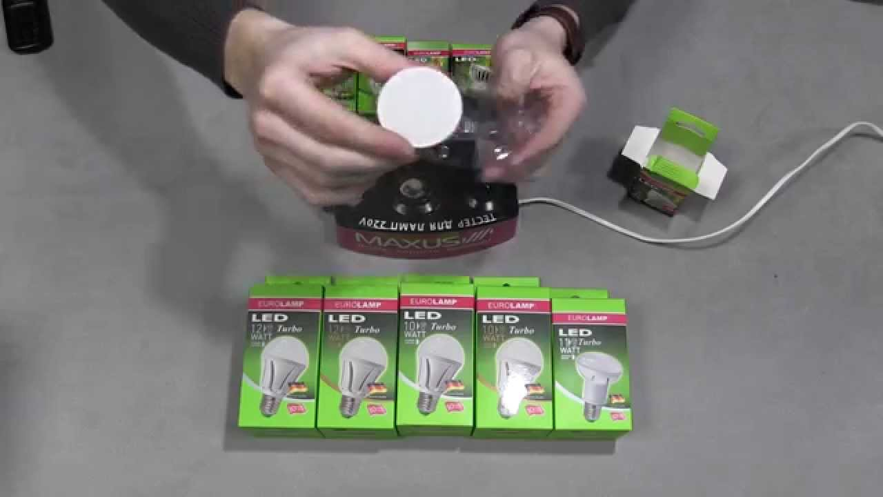ЭРА LED smd MR16-6w-827-GU5.3 , обзор светодиодной лампы - YouTube