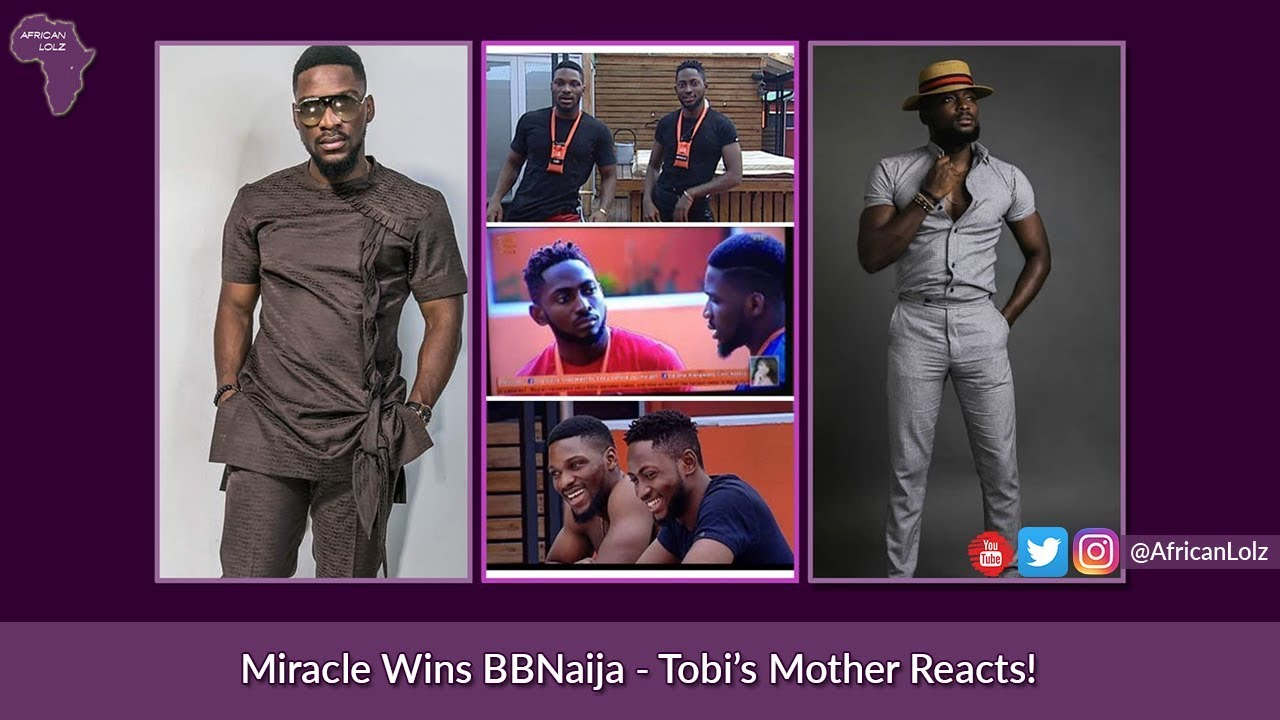 BBNaija 2018 - Miracle Wins, Tobi's Mother Reacts - Big Brother Naija Finale - Comedy Skit