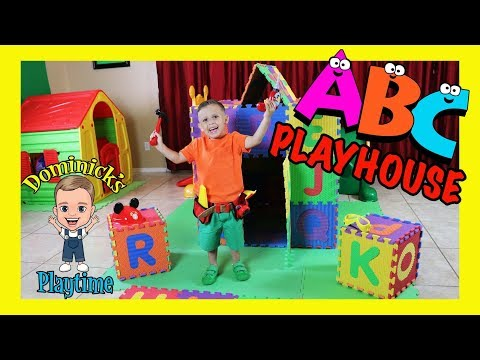 ABC PLAYHOUSE | ABC SONG | NURSERY RHYMES | DOMINICK'S PLAYTIME