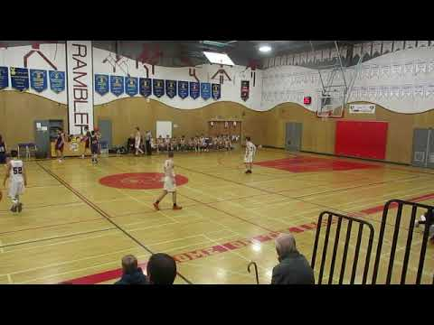 SRT VS MAPLE RIDGE SECONDARY, FRASER VALLEY SENIOR BOYS AAA BASKETBALL, FINAL REGULAR SEASON GAME, F