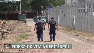 Fidesz-DK vita a kerítésről 19-08-31