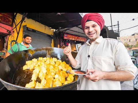 INDIAN STREET FOOD Tour DEEP in PUNJAB, INDIA | BEST STREET