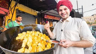 connectYoutube - INDIAN STREET FOOD Tour DEEP in PUNJAB, INDIA | BEST STREET FOOD in INDIA and BEST CURRY HEAVEN!