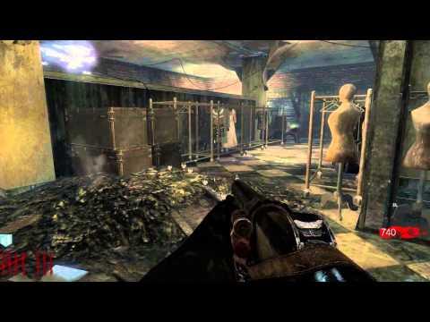 выживание Call Of Duty Black Ops- театр смерти или как активировать телепорт + секретные локации