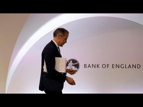 "Banco de Inglaterra emite alerta para um ""Brexit"" sem acordo"