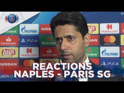 REACTIONS : SSC NAPOLI 1 - 1 PARIS SAINT-GERMAIN ENG 🇬🇧