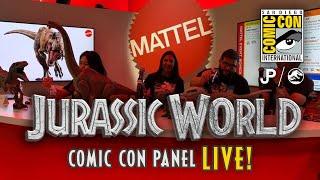 Mattel Jurassic World LIVE SDCC Panel - 2020 Primal Attack Toys & More / collectjurassic.com
