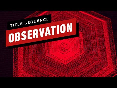 Observation's Incredible Title Sequence