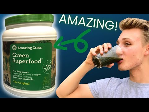 Best Green Powder? (Amazing Grass Green Superfood Review)