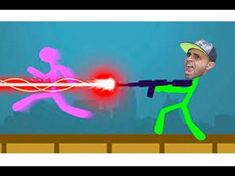 تحدي اعواد الخشب ضحك هههه !! 🤣😁  Stick Fight