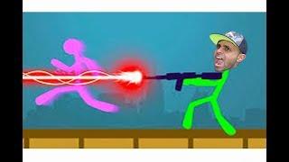تحدي اعواد الخشب ضحك هههه !! 🤣😁| Stick Fight