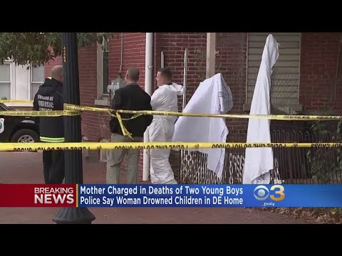 Mother Charged In Deaths Of 2 Young Boys