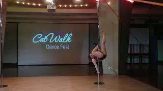 Валерия Жирнова - Catwalk Dance Fest IX[pole dance, aerial]  12.05.18.