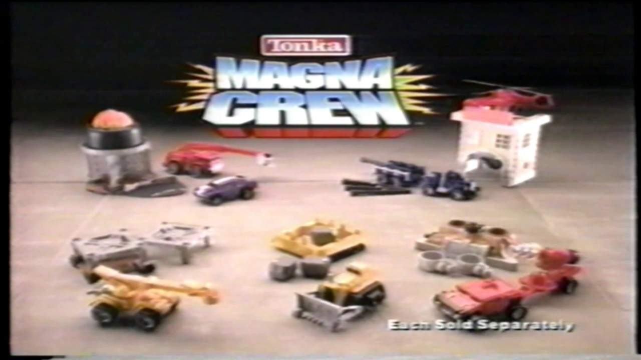 Tonka Magna Crew Construction Toy TV Commercial