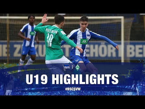 Highlights - U19 - Werder Bremen - A-Junioren-Bundesliga - Hertha BSC