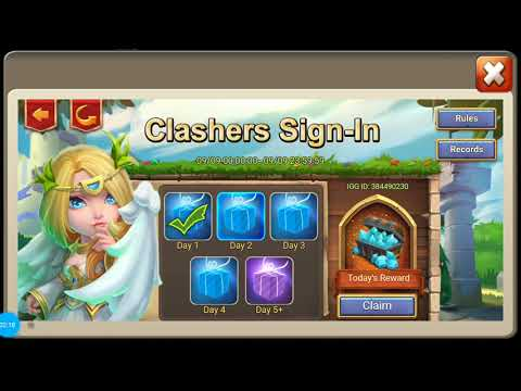 Clashers Day Castle Clash 9-10-19