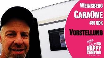 Vorstellung Weinsberg CaraOne 480 QDK   Happy Camping