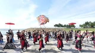 [4K] 常磐 / テーマ「百鬼夜行」 / 第16回泉州YOSAKOIゑぇじゃないか祭り 本祭