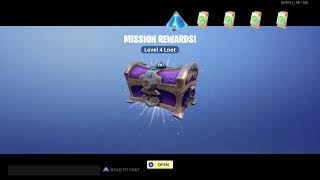 FORTNITE: Save the world, STONEWOOD vbucks mission alert