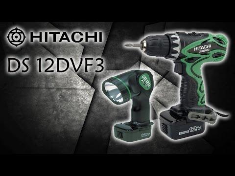 Аккумуляторный шуруповерт HITACHI DS 12DVF3
