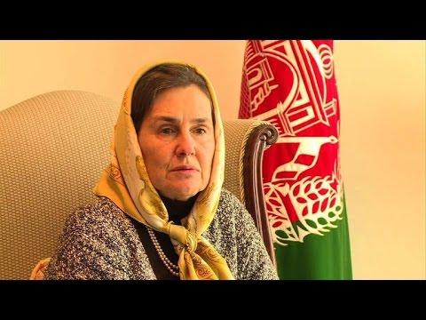 Cosmopolitan new Afghan first lady backs French veil ban