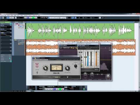 Sound Tips 01: Mixing Voiceover