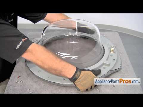Washer Door Glass (part #DC64-00504C) - How To Replace