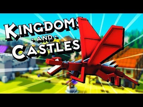 DRAGON INVADES the NEW KINGDOM! - Kingdoms and Castles Gameplay