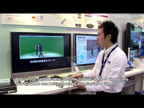 Free-viewpoint Video Technology : DigInfo