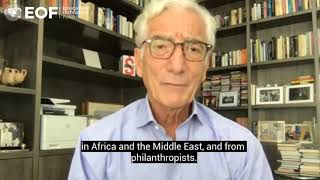 Sir Ronald Cohen highlights EOF's move to UNICEF