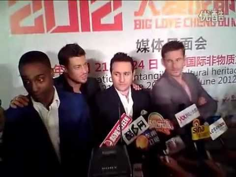 Blue - Interview for Chengdu Media (China, 17.04.2012)