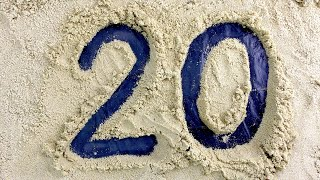 Learn to count NUMBERS 123 | Make NUMBERS 1 to 20 on SAND for Baby CHALLENGE | Counting for children